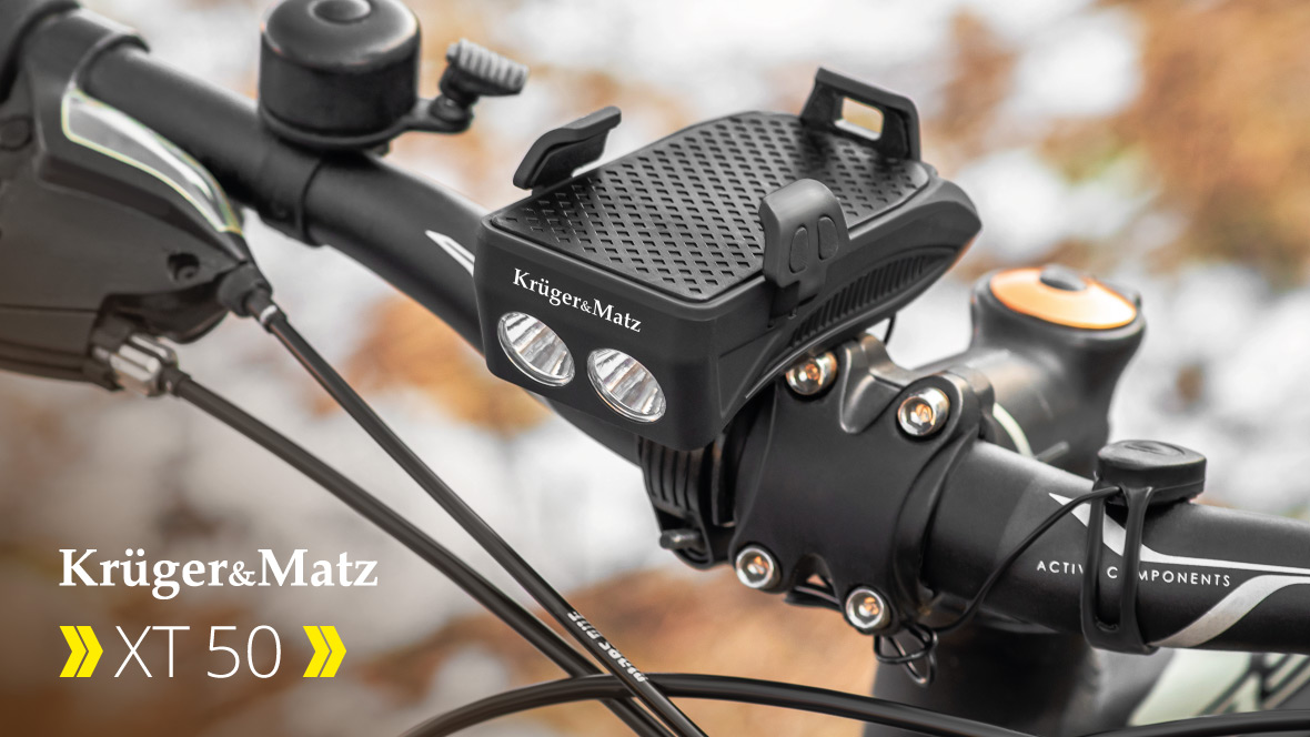 Uchwyt rowerowy na telefon Kruger&Matz XT 50