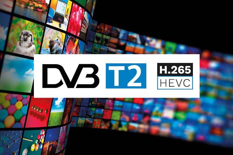 Telewizor dvb-t2/hevc