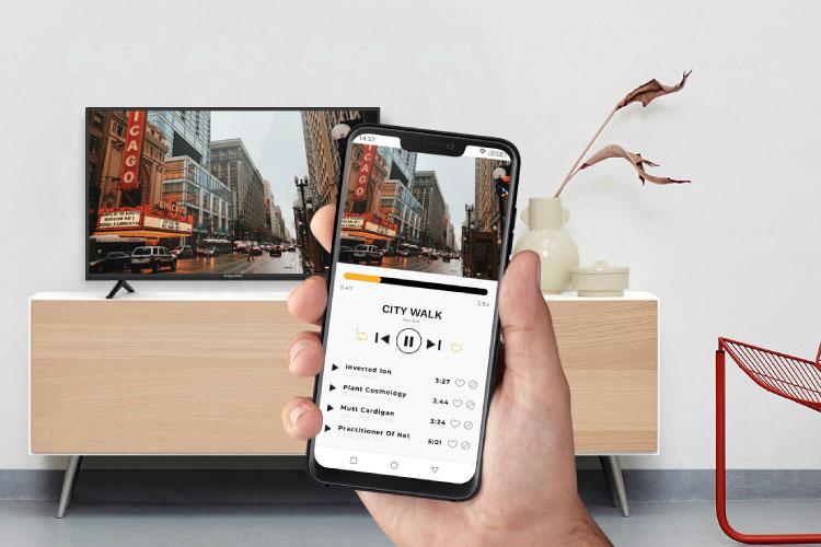 Jak przerzucić obraz z telefonu na telewizor