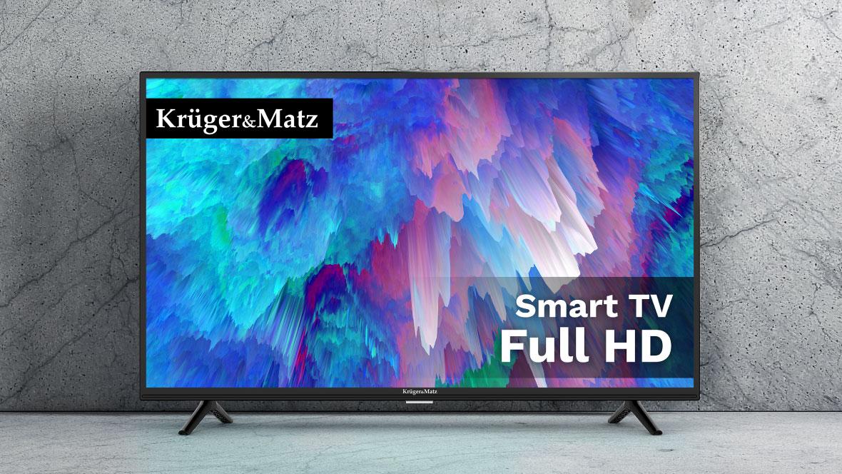 Telewizor 40 cale smart TV Kruger&Matz