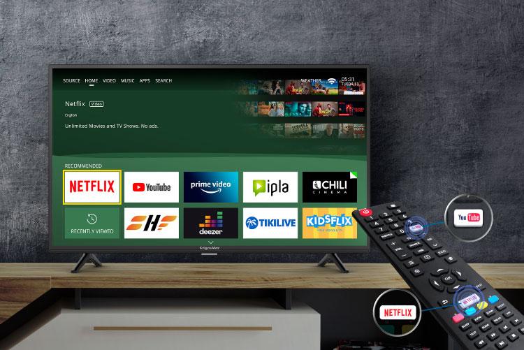 Mały telewizor smart