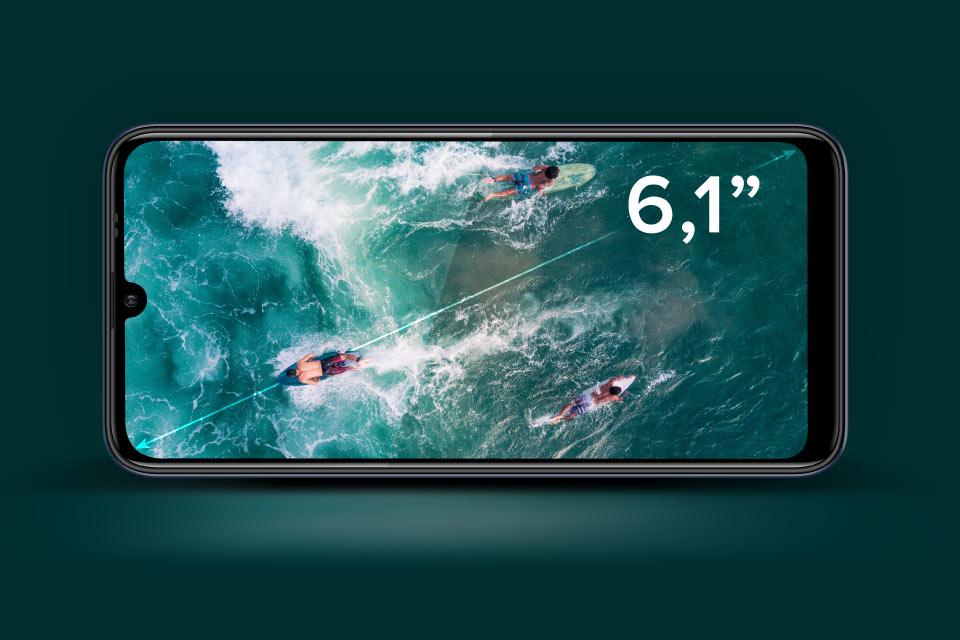 """Smartfon z dużym wyświetlaczem 6,1"""""""