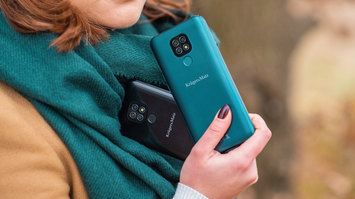 Smartfon Kruger&Matz LIVE 8 ciemnozielony
