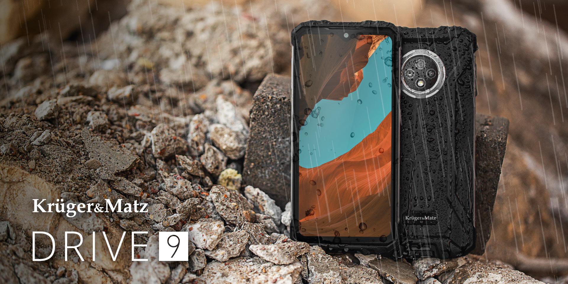 Wzmocniony smartfon Kruger&Matz DRIVE 8