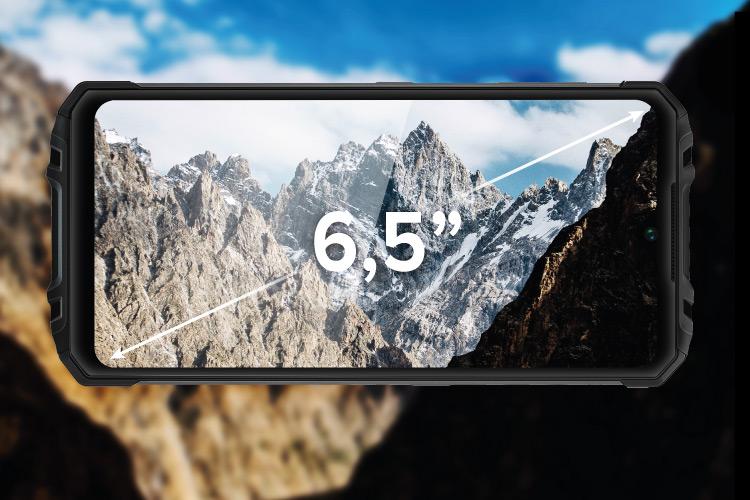 Smartfon z dużym wyświetlaczem HD+