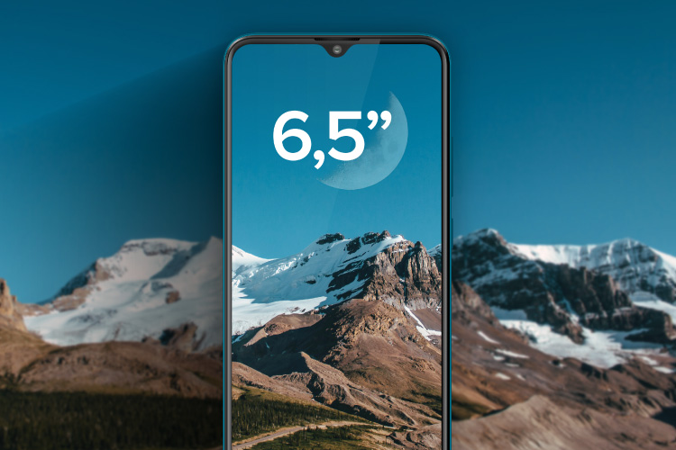 Smartfon z dużym wyświetlaczem