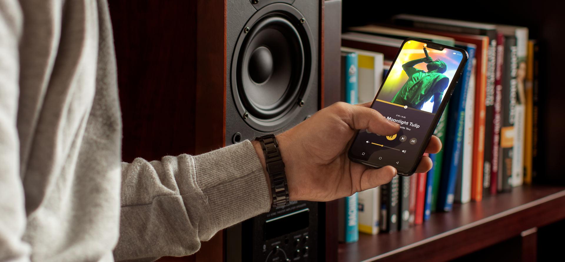 Aktywne kolumny głośnikowe Kruger&Matz z Bluetooth