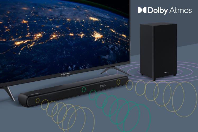 Soundbar z Dolby Atmos
