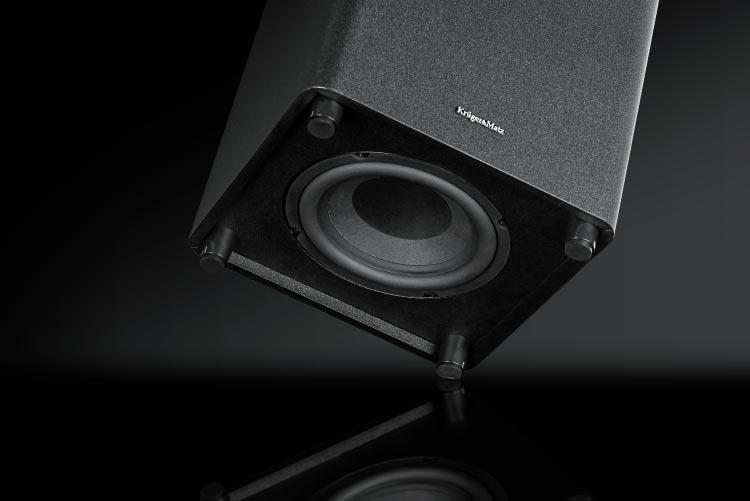 Soundbar z aktywnym subwooferem
