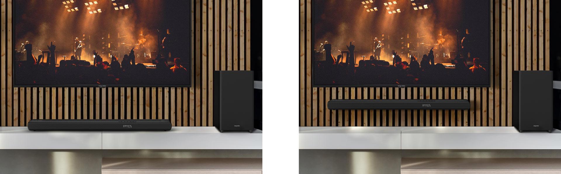 Soundbar do montażu na ścianie