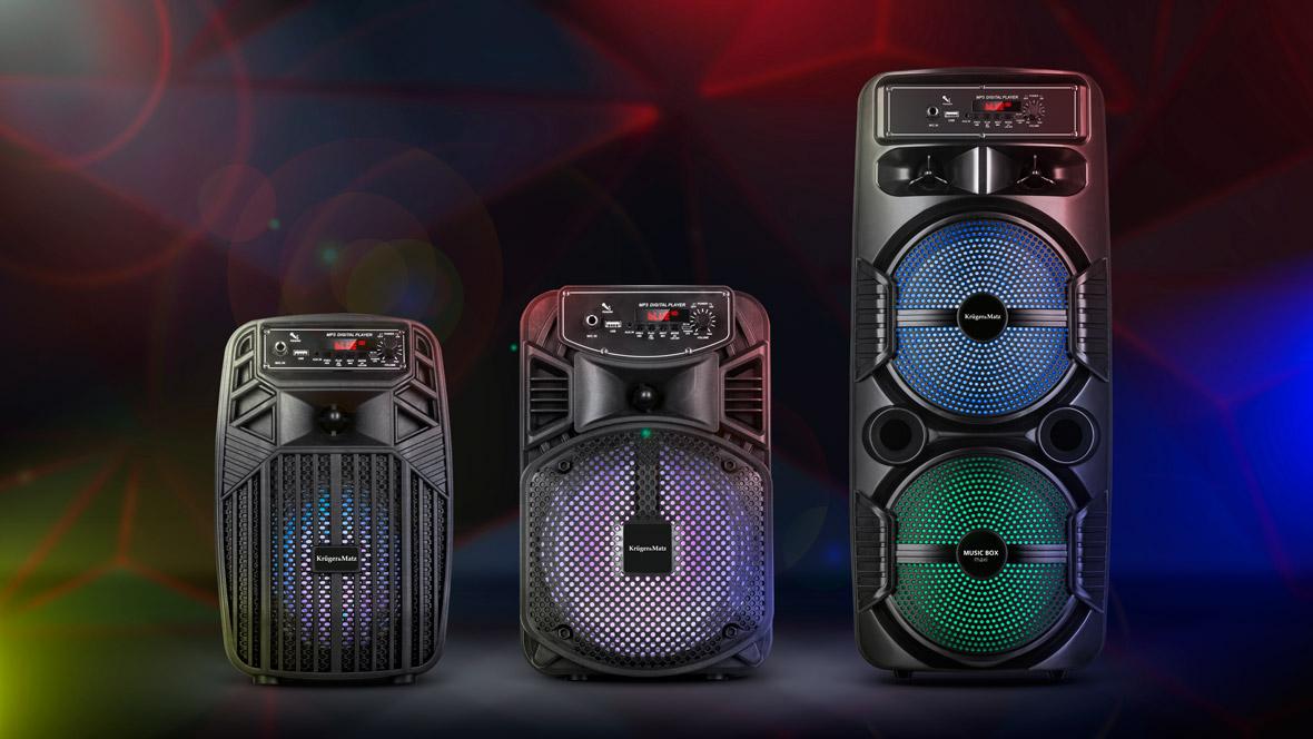 Przenośny głośnik Bluetooth Kruger&Matz Music Box
