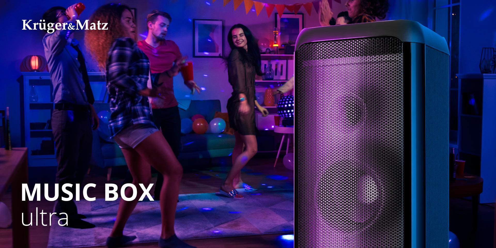 Przenośny głośnik Bluetooth Kruger&Matz Music Box Ultra