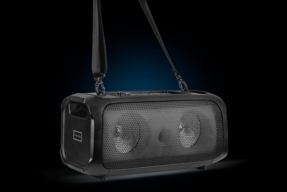 Głośnik Bluetooth z kółkami