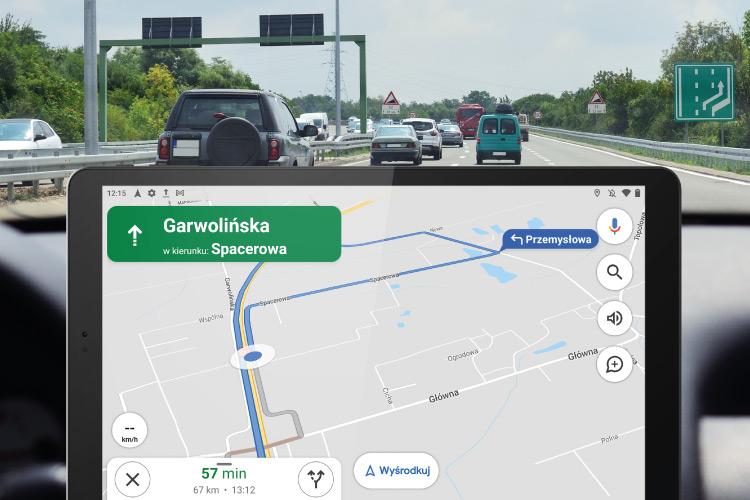 Tablet z GPS