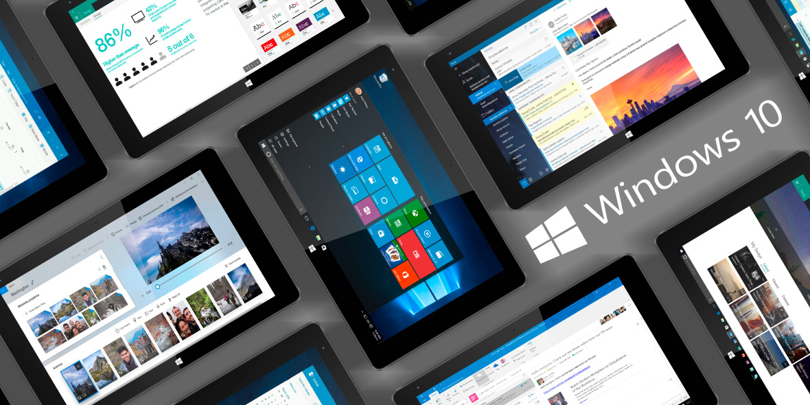 Tablet Kruger&Matz z Windows 10