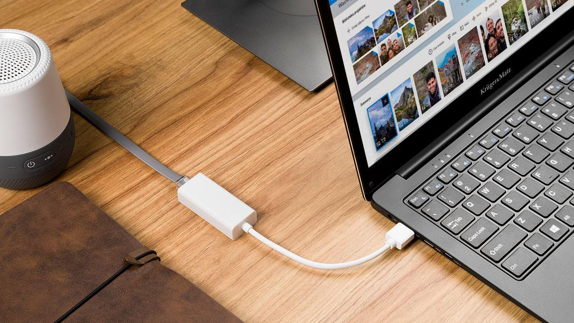 Przejściówka USB RJ45 gigabit ethernet