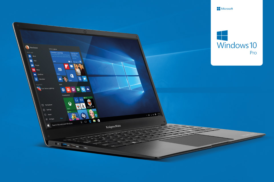 Ultrabook z Windows 10 Professional