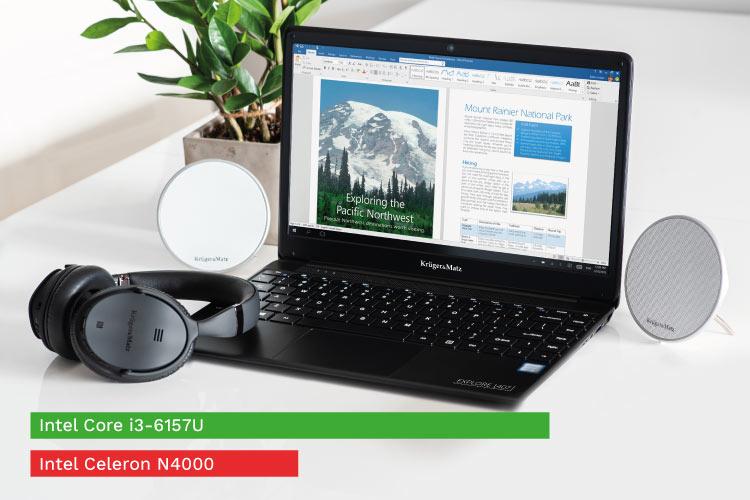 Wydajny laptop z procesorem Intel
