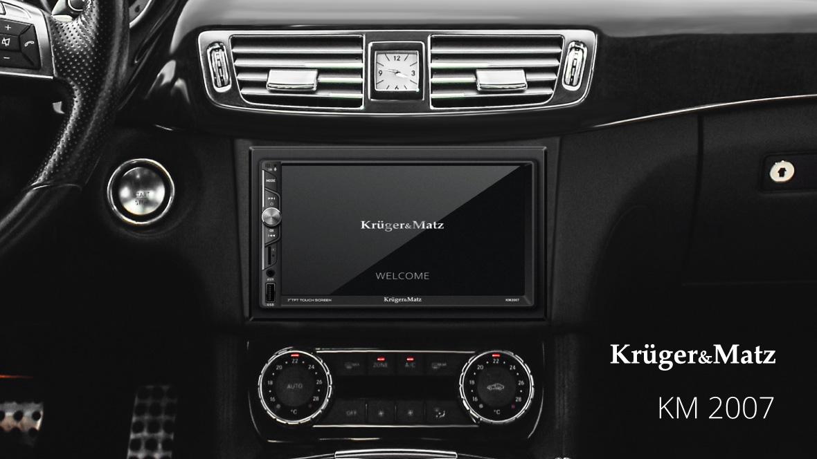 Radio samochodowe Kruger&Matz KM 2007