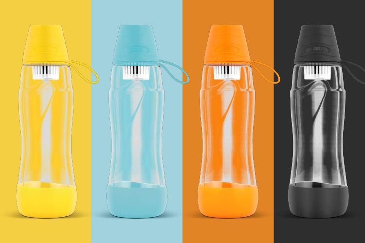 Butelka filtrująca - wiele kolorów