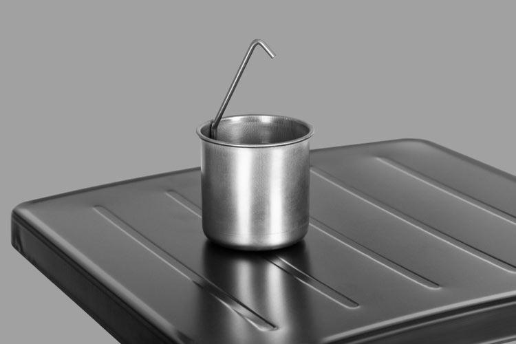 Gazowy grill łatwy w czyszczeniu