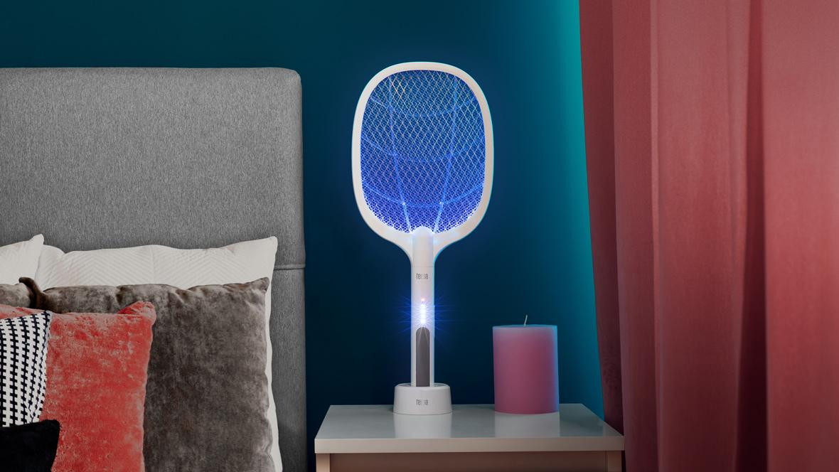 Elektryczna łapka / lampa na owady 2w1 Teesa
