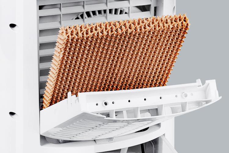 Klimatyzator z dwoma filtrami