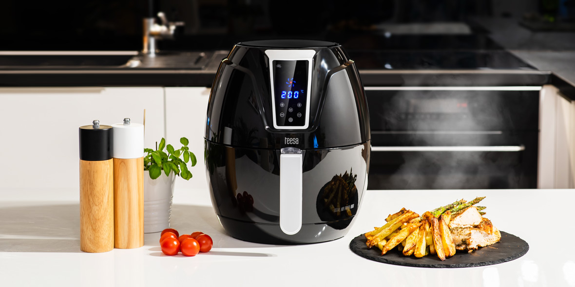 Frytkownica beztłuszczowa Teesa Digital Air Fryer
