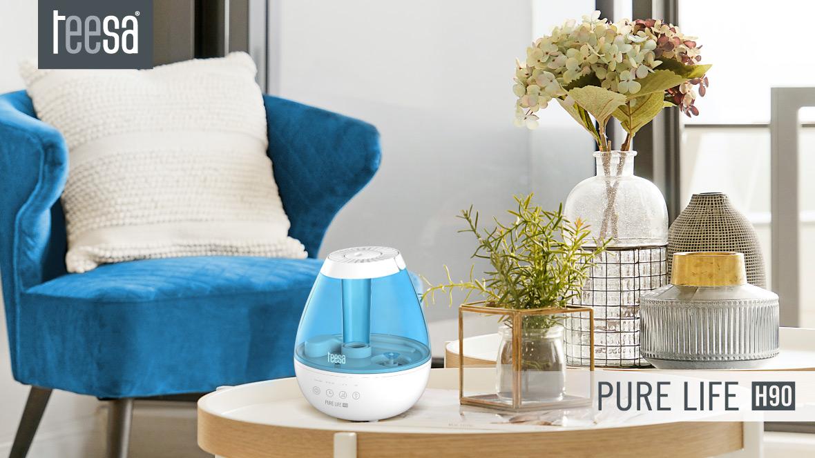 Ultradźwiękowy nawilżacz powietrza Teesa PURE LIFE H90