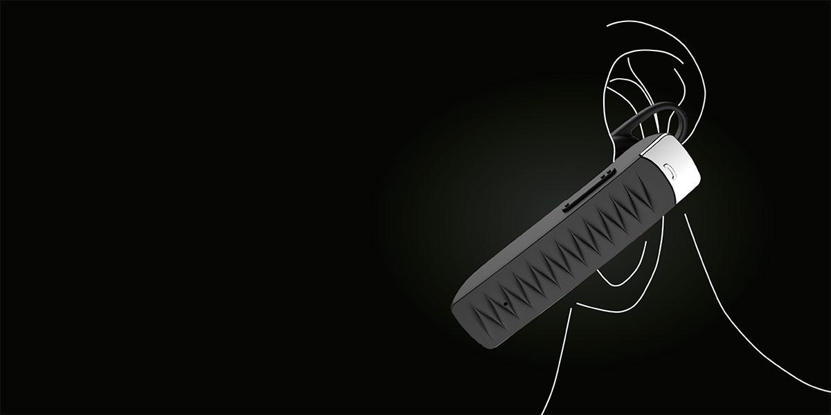 Ten prosty w obsłudze zestaw posiada szereg funkcji ułatwiających komunikowanie się osobom, które często prowadzą rozmowy będąc w ruchu. Doskonale wyprofilowana konstrukcja słuchawki umożliwia wygodne korzystanie zarówno na prawym, jak i lewym uchu, zapewniając maksimum komfortu nawet podczas kilku godzin rozmów.