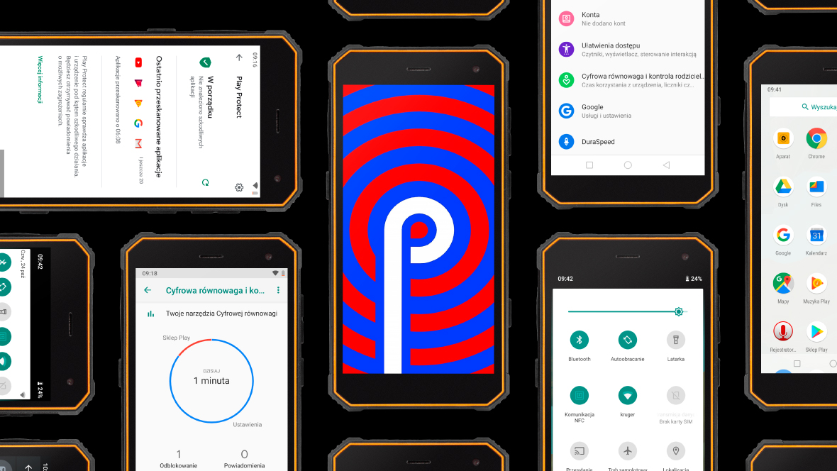 Smartfon z Androidem 9.0
