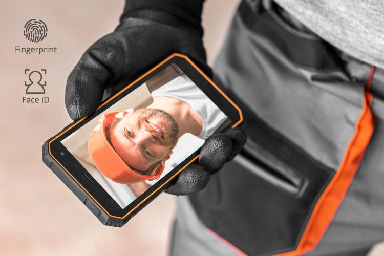 Smartfon z Face Unlock