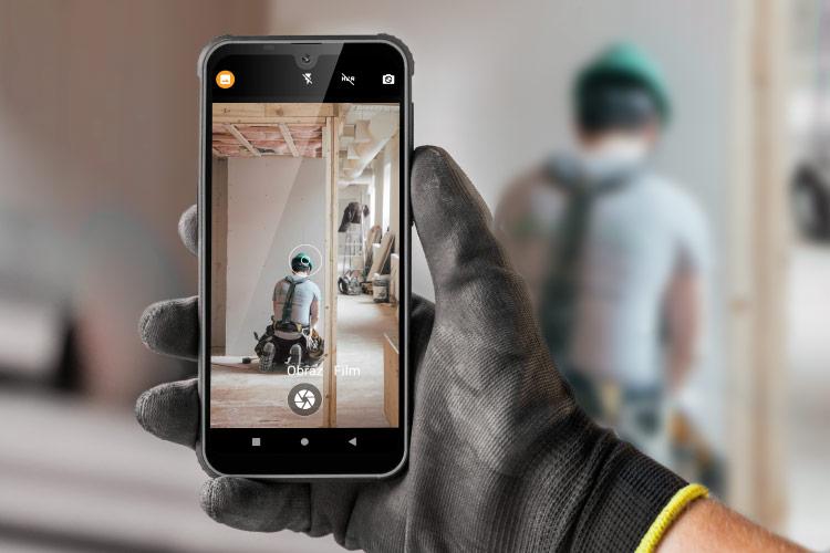 Odporny smartfon do robienia zdjęć