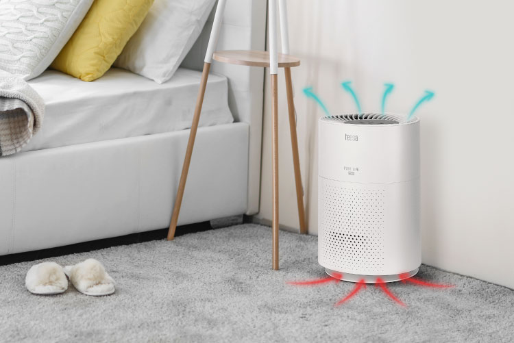 Oczyszczacz powietrza Teesa z 3 trybami pracy